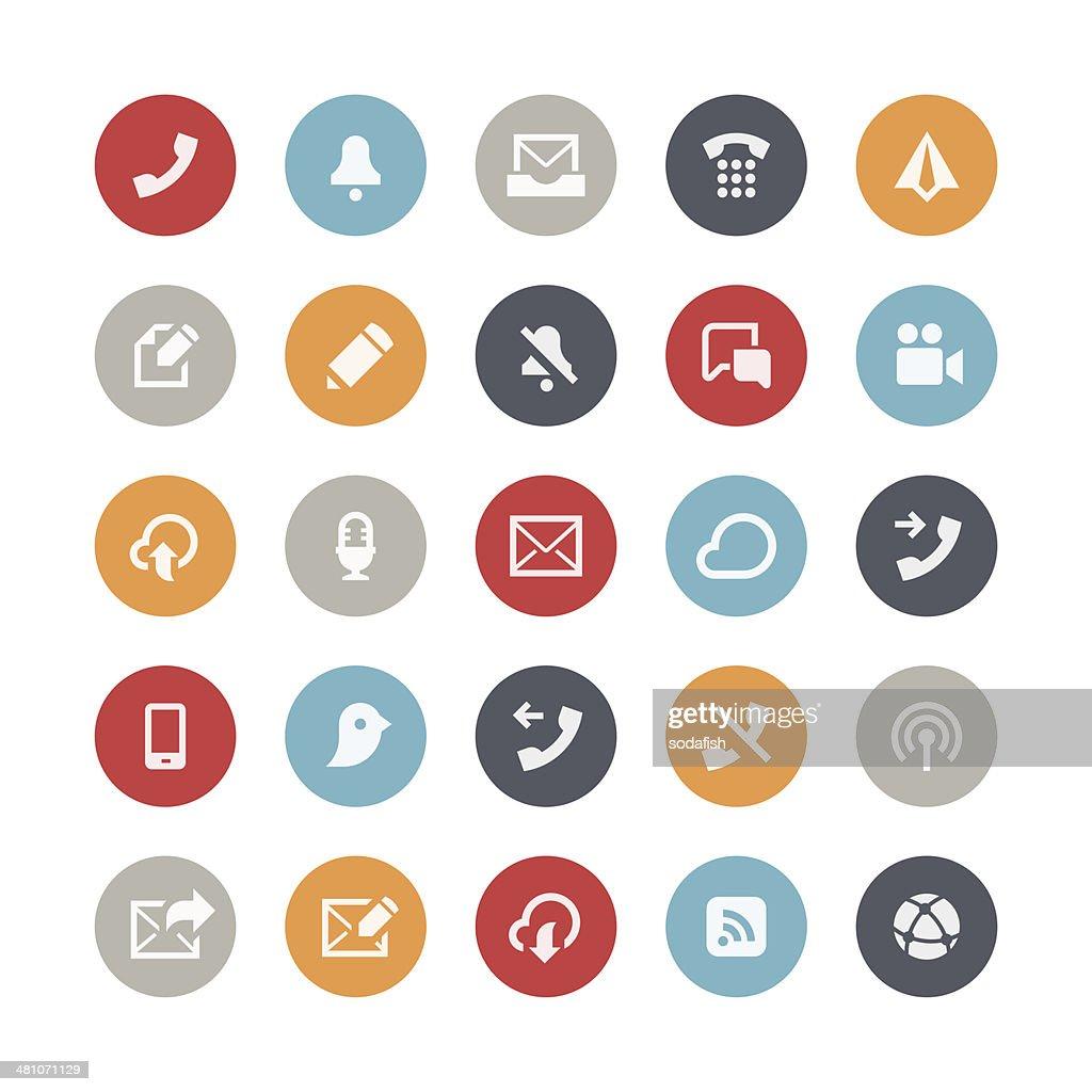 Communication icons | Orbis series