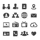 Communication Icons Set - Acme Series