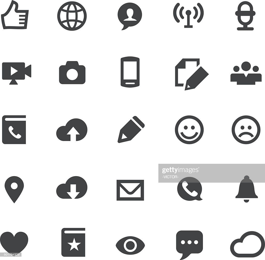 Communication Icons - Smart Series