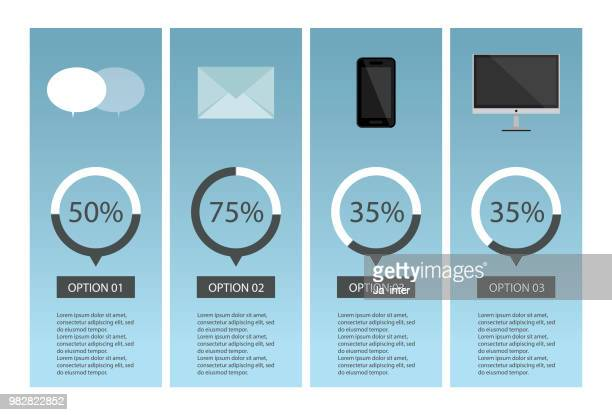 communication infographic - answering machine stock illustrations, clip art, cartoons, & icons