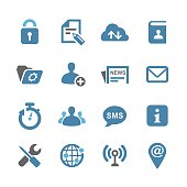 Communication Interface Icons - Conc Series