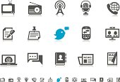 Communication & Media icons | Pictoria series
