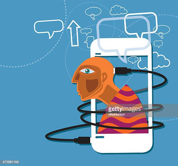communication technology - cable stock illustrations, clip art, cartoons, & icons