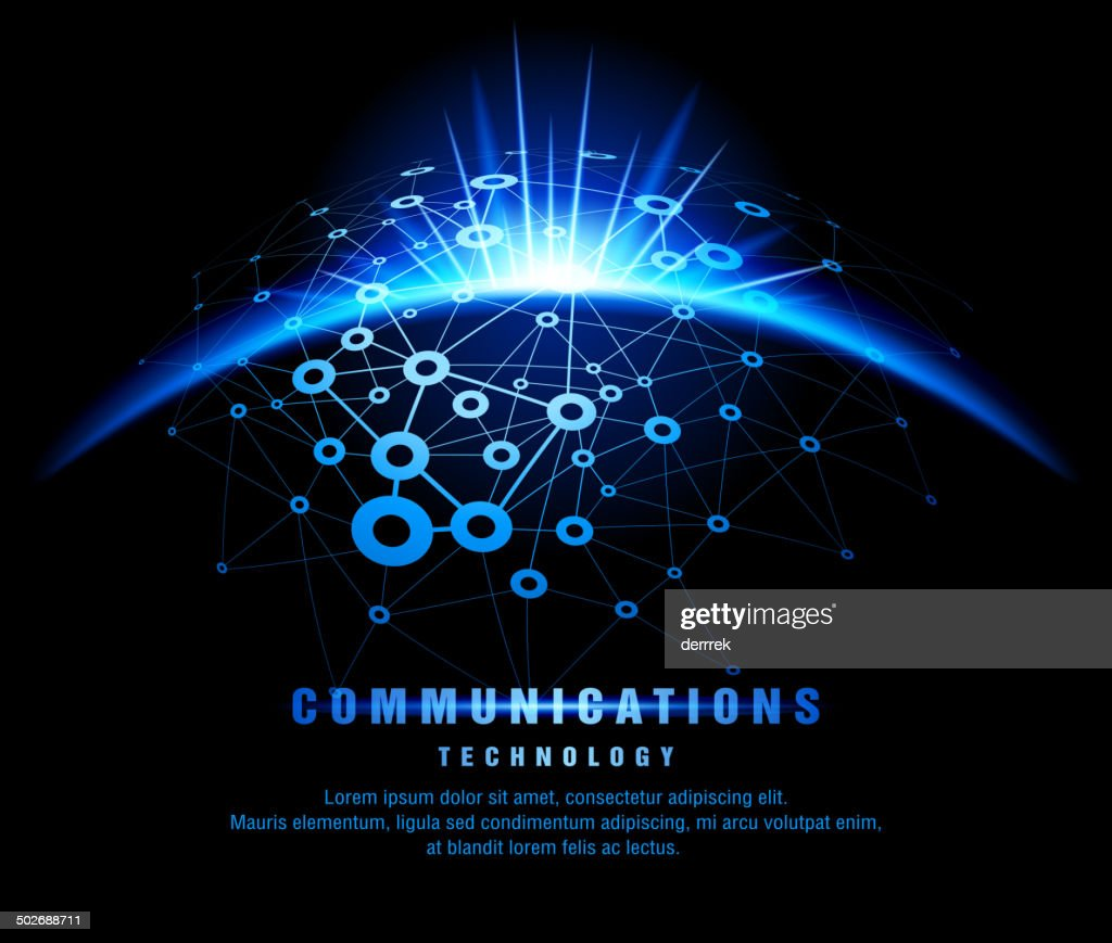 Communication technology : stock illustration