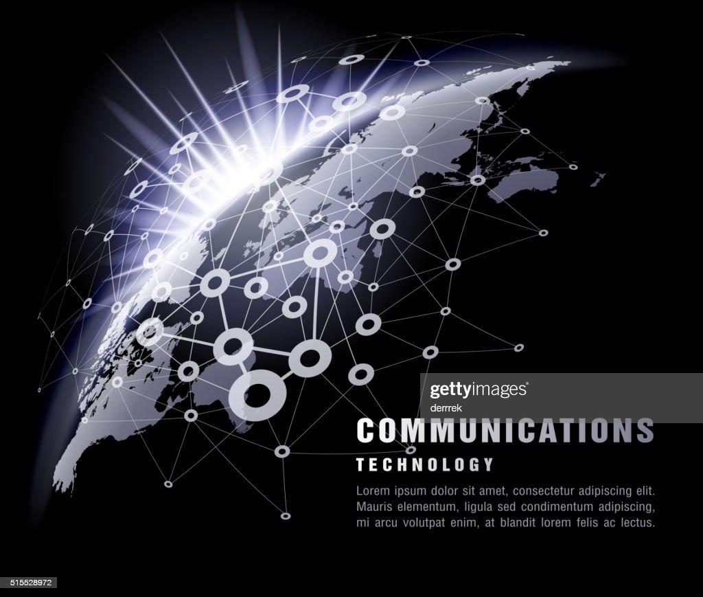 Communication technology : stock illustration