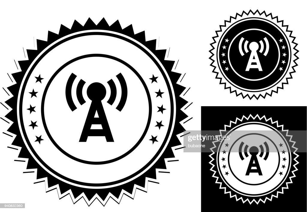 Sendeturm Antenne Symbol Vektorgrafik | Getty Images