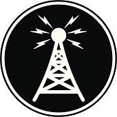Communication Tower Symbol