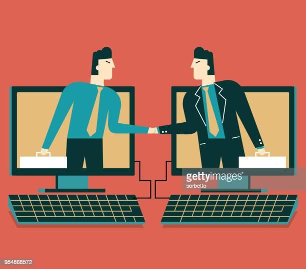 communication - agreement stock illustrations, clip art, cartoons, & icons