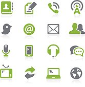 Communications Icons - Natura Series