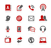 Communications Icons // Redico Series