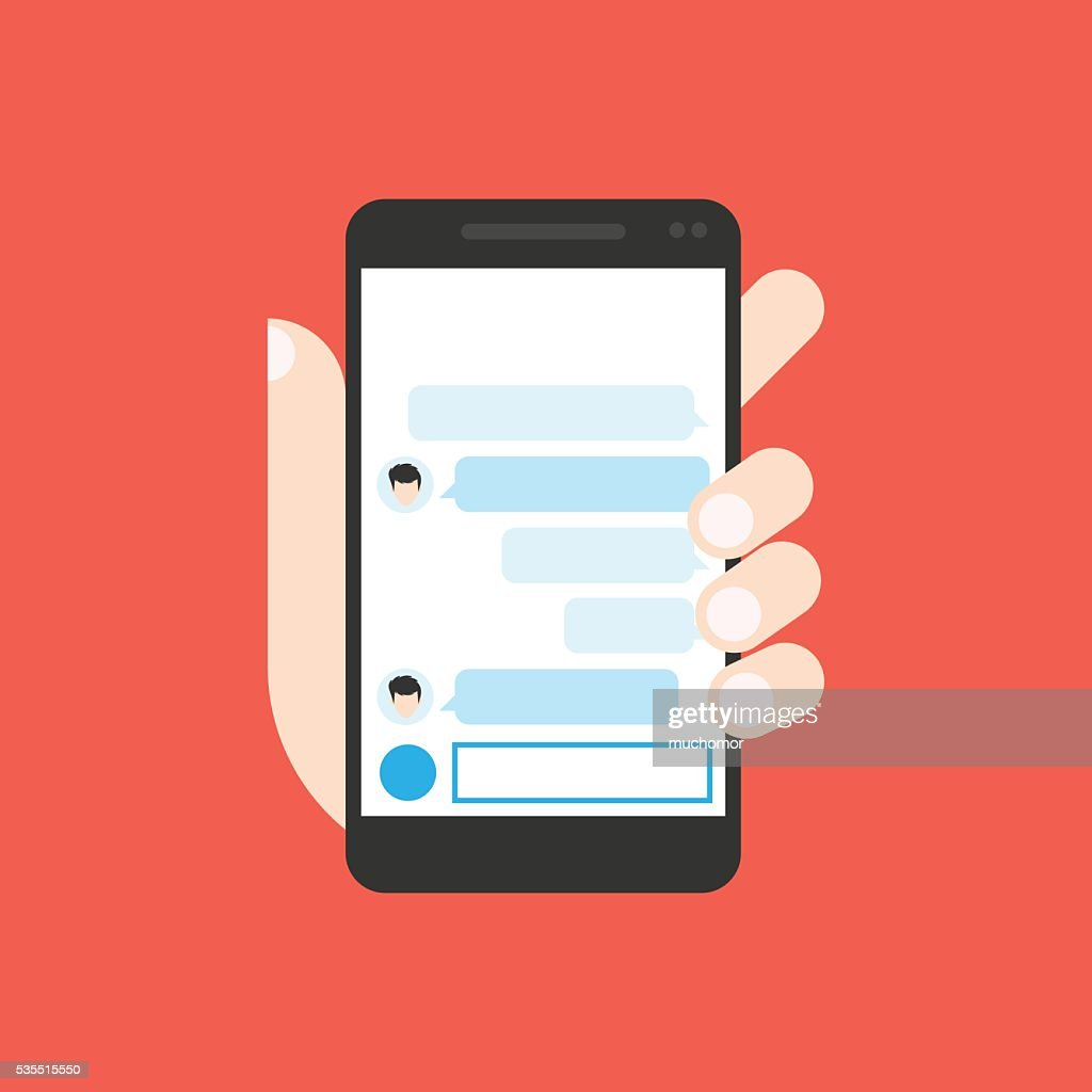 Communicator to chatting on mobile phone