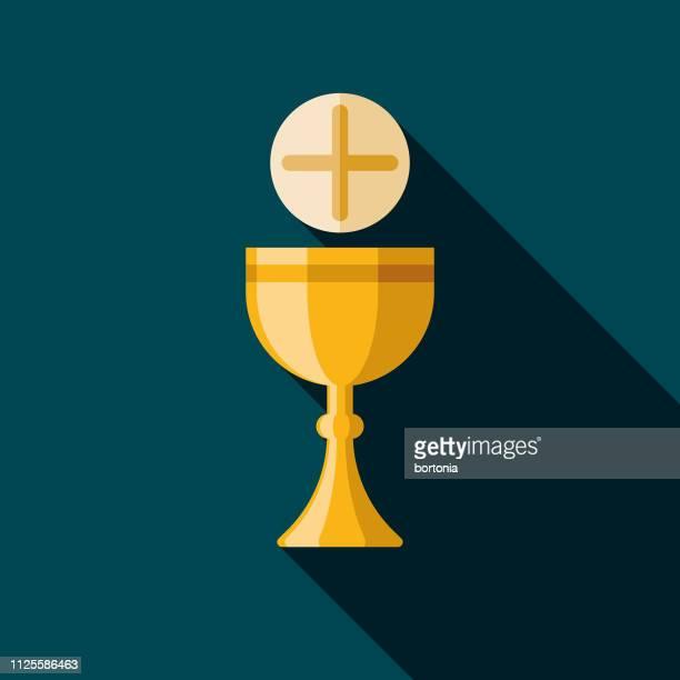 communion brazil icon - communion stock illustrations