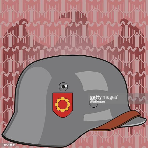 illustrazioni stock, clip art, cartoni animati e icone di tendenza di casco comunista - estremismo