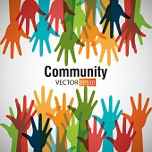 Community and people graphic