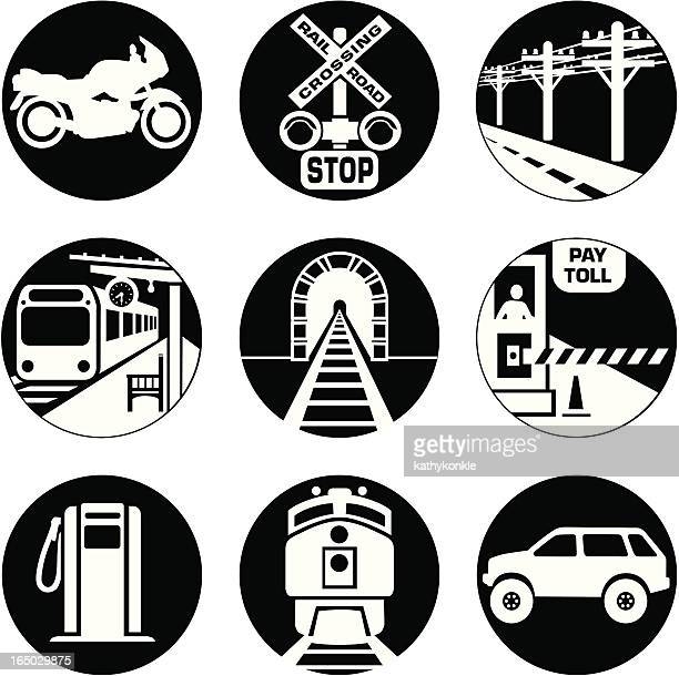 commute icons reversed