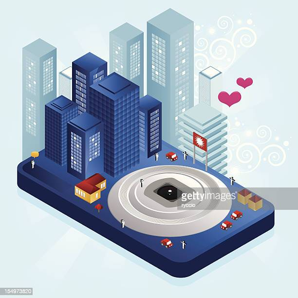 Compact cam city