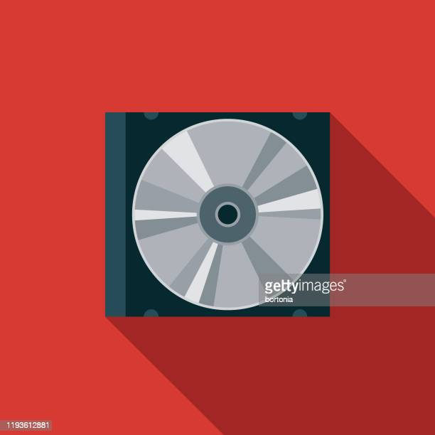compact disc music icon - compact disc stock illustrations