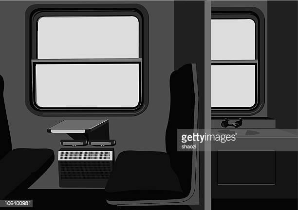 compartment in train