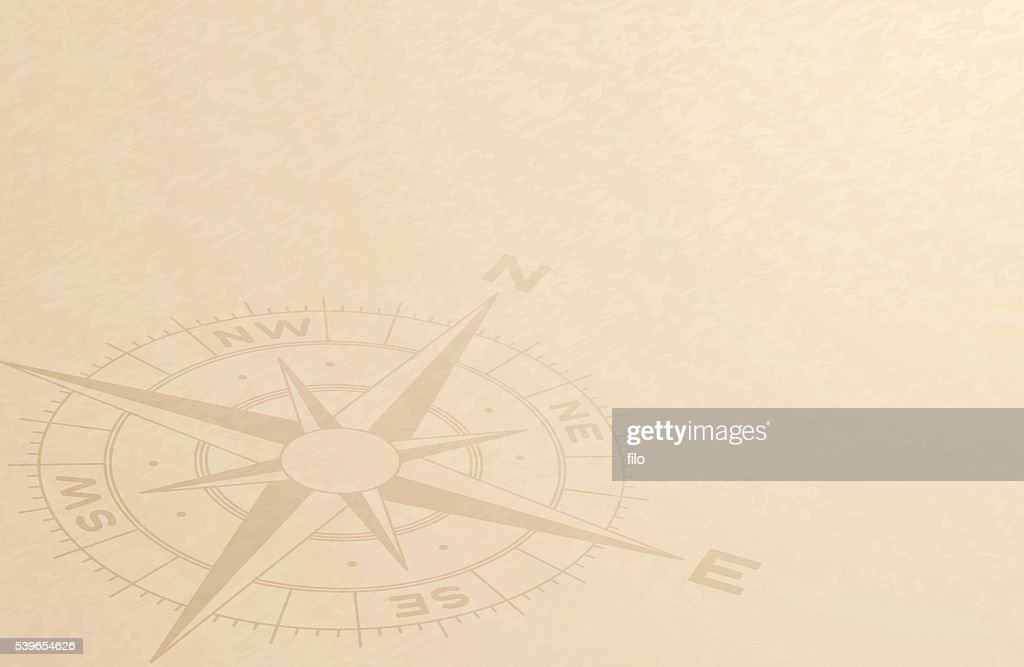 Compass Discovery Background : stock illustration
