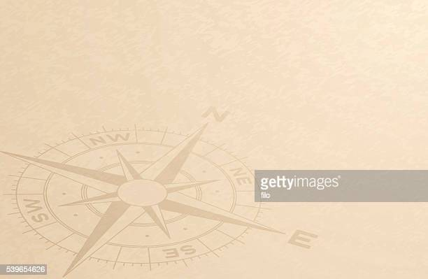 compass discovery background - history stock illustrations