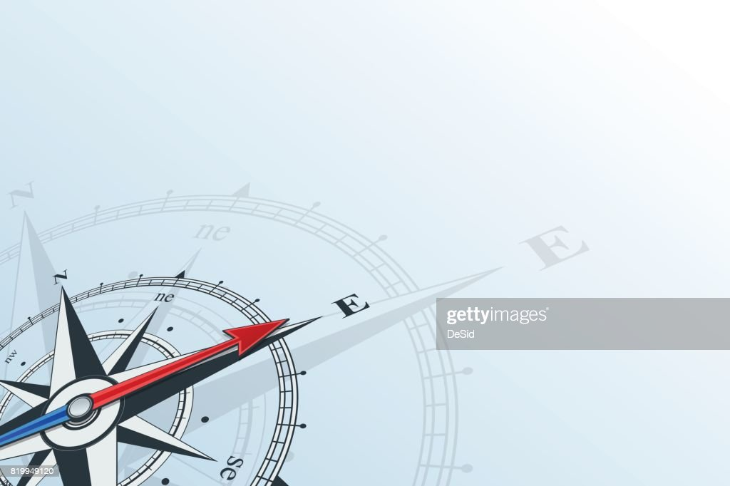 compass east background