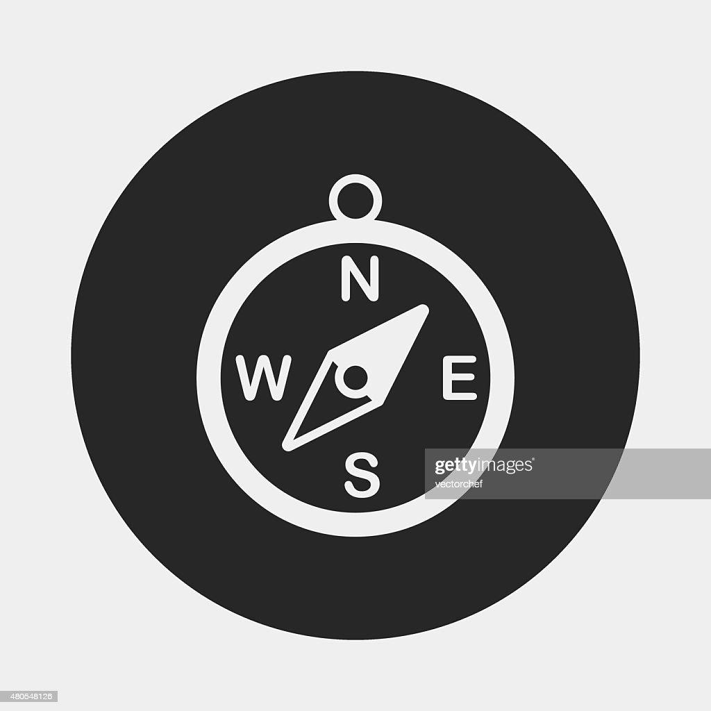 compass icon : Vector Art