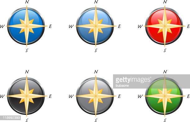 Compass in 6 colors