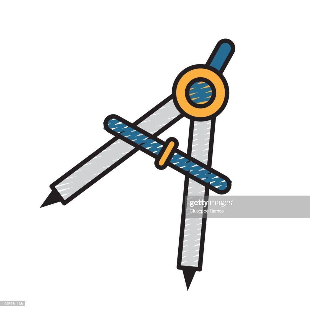compass study tool to do circles