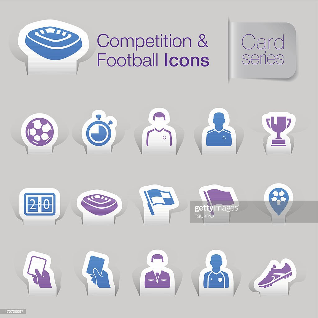 Competition & football related icons