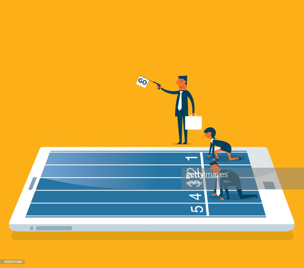 Competition : stock illustration