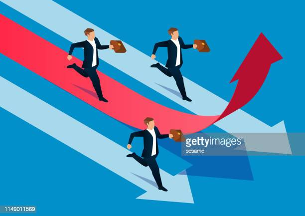 competitive business concept - assertiveness stock illustrations, clip art, cartoons, & icons