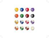 Complete Billiard Balls