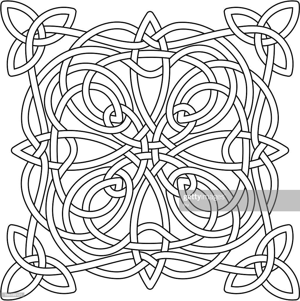 Complex Celtic Knot