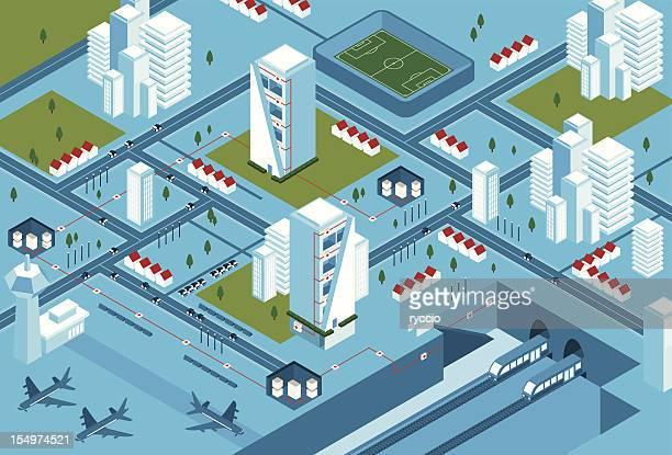 Complex energy city