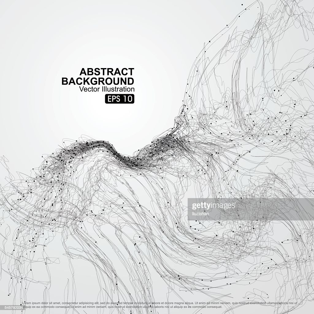 complex lines consisting of Abstract graphic.