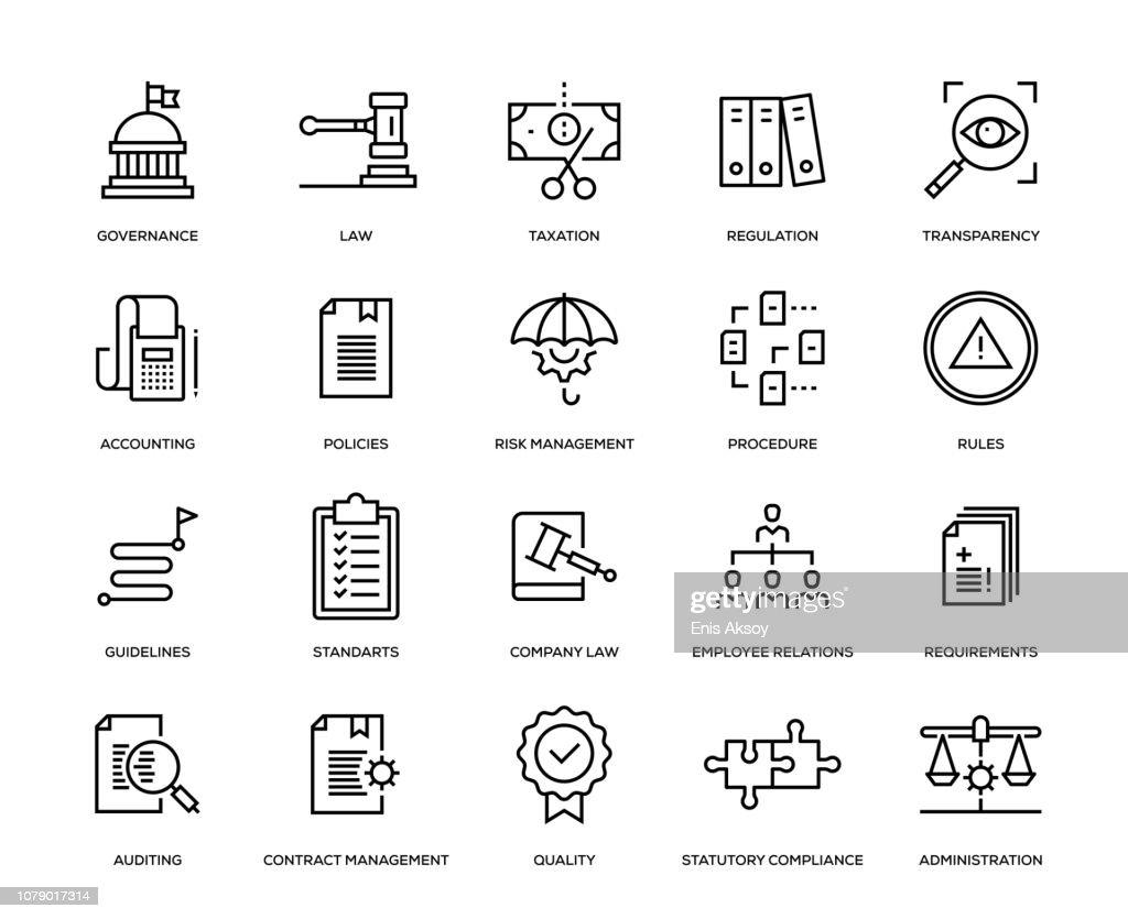 Compliance Icon Set