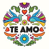 Composition – Love Birds - Spanish Text