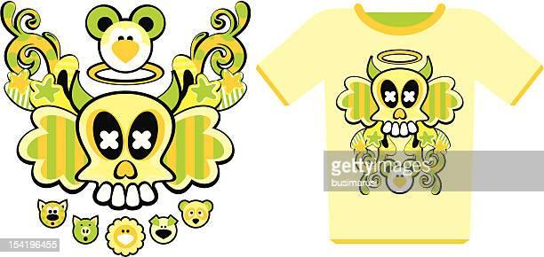 構図の T シャツ