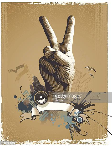 composition with hand - declaration of independence stock illustrations, clip art, cartoons, & icons