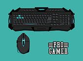 Computer gamer equipment