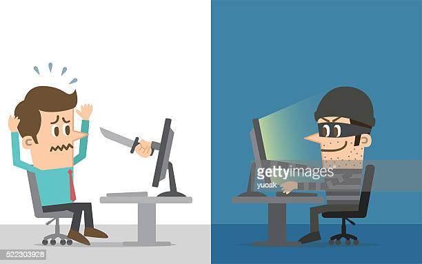 computer hacker - conspiracy stock illustrations, clip art, cartoons, & icons