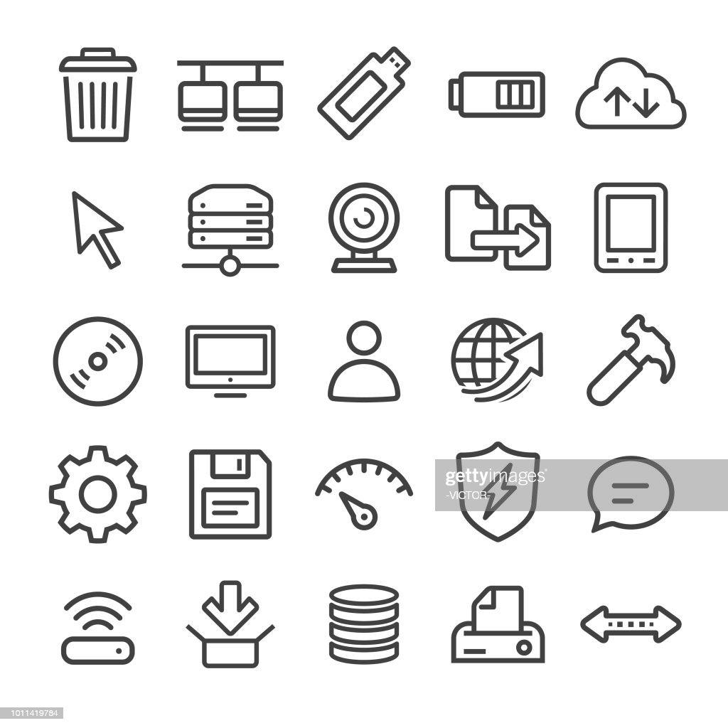 Computer Icon - Smart Line Series