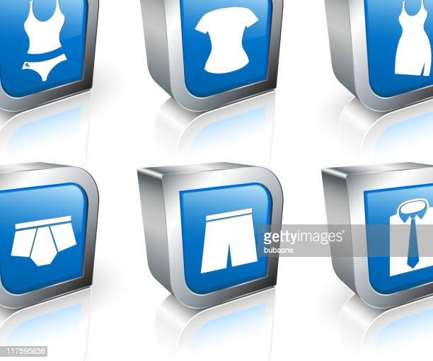 computer icons of different clothes