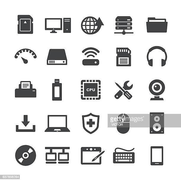 Computer Icons Set - Smart Series