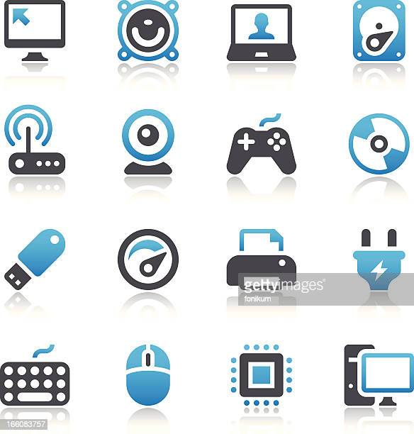 computer icons - computer speaker stock illustrations, clip art, cartoons, & icons