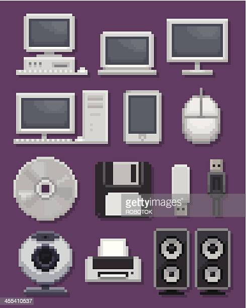 computer icons - floppy disk stock illustrations, clip art, cartoons, & icons