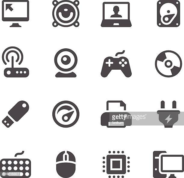 computer icons - usb cable stock illustrations, clip art, cartoons, & icons