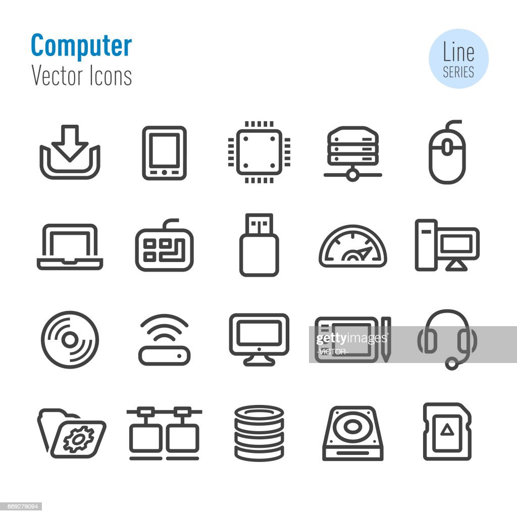 Computer Icons - Vector Line Series