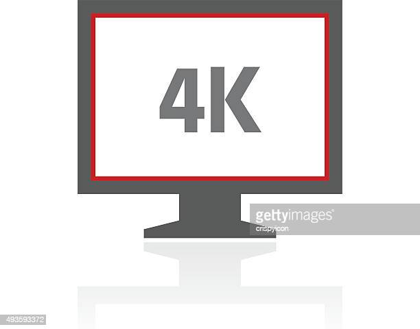 Computer Monitor icon on a white background. - ProSeries