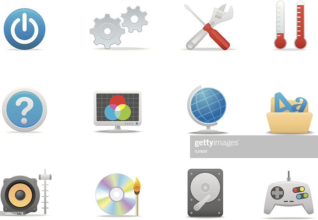 Computer OS icons | Premium Matte series